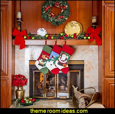 Christmas Stockings Christmas decorating ideas - Christmas decor - Christmas decorations - Christmas kitchen decor - santa belly pillows - Santa Suit Duvet covers - Christmas bedding - Christmas pillows - Christmas  bedroom decor  - winter decorating ideas - winter wonderland decorating - Christmas Stockings Holiday decor Santa Claus - decorating for Christmas - 3d Christmas cards