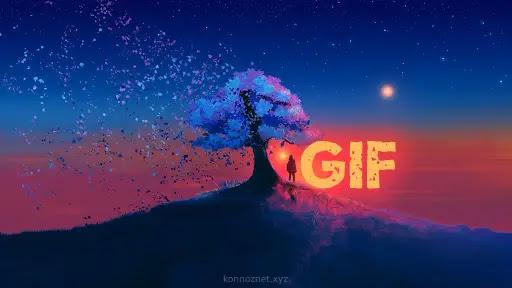 صورة GIF متحركة كخلفية على كمبيوتر MAC