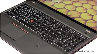التكوينات Lenovo Thinkpad W550s