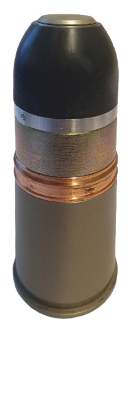 Постріл V40х46 осколково-фугасний для підствольного гранатомету