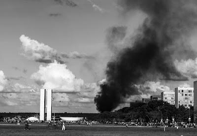 Manifestações em Brasília - Divulgação