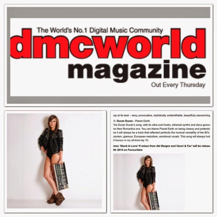 Irena D in Top Music Magazine