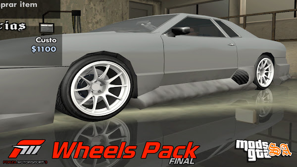 Pack de Rodas do Forza Horizon 3 para GTA San Andreas