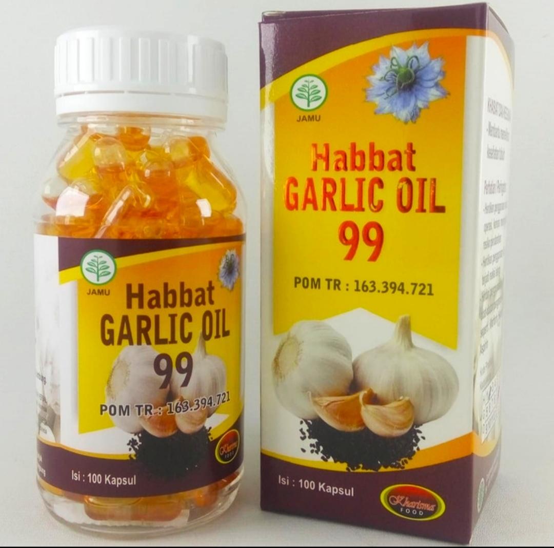 Jual Kapsul Habbat Garlic di Surabaya