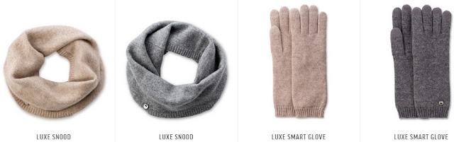 UGG Cashmere Scarf & Gloves