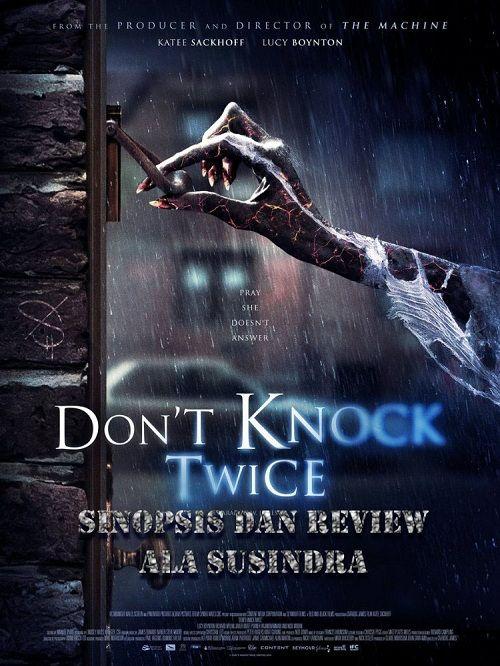 Sinopsis Knock Knock : sinopsis, knock, Don't, Knock, Twice:, Sinopsis, Review, Filmnya