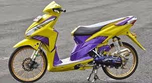 Modifikasi Honda Vario Velg 17 Jari - Jari