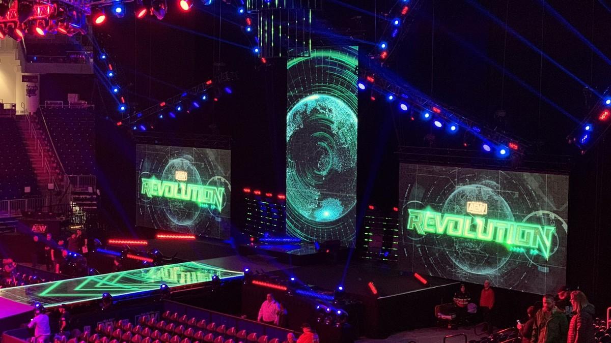AEW Revolution será transmitido em alguns cinemas