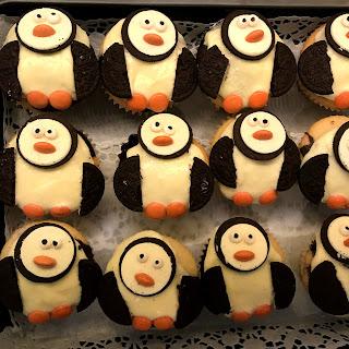 Pâtisserie Nadine Pinguin Cupcakes Mit Rotkäppchen Muffins Vegan