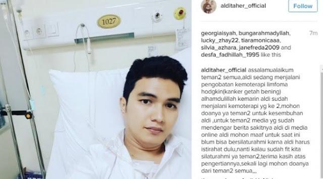 Aldi Taher Mengidap Kanker Getah Bening, Inilah Penyebab Utamanya