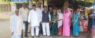 पुर्व विधायक इंदल कुमार रावत ने जोरो से शुरू किया जनसंपर्क अभियान,ब्लॉक प्रमुख चुनाव को लेकर लामबंदी शुरू