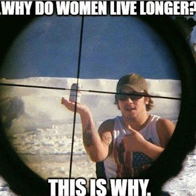 This is why women live longer than men..