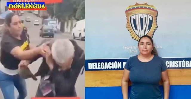 Tarek ordena detención de una mujer por golpear a un anciano que robaba compotas