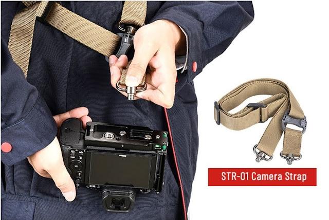 Sunwayfoto PNL-Z6II L Bracket on Nikon Z6II QD socket