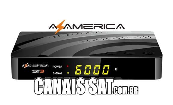 Azamerica ST3 4K Nova Atualização V1.09.21057 - 05/11/2019