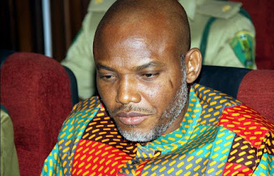 Nnamdi Kanu, the director of Radio Biafra begs the Britsh government to mediate for his situation