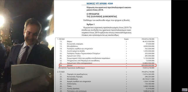 Ο ΜΗΤΣΟΤΑΚΗΣ ΒΓΑΖΕΙ ΑΝΥΠΑΡΚΤΟ ΤΟΝ ΚΡΑΤΙΚΟ ΠΡΟΥΠΟΛΟΓΙΣΜΟ ΠΟΥ Ο ΙΔΙΟΣ ΥΠΕΓΡΑΨΕ (26-9-2019) (ΒΙΝΤΕΟ)