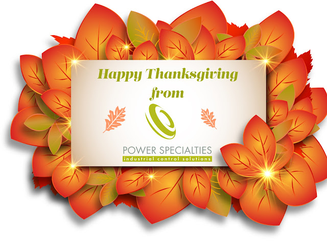 Happy Thanksgiving from Power Specialties