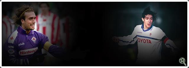 Gabriel Batistuta Rui Costa Fiorentina