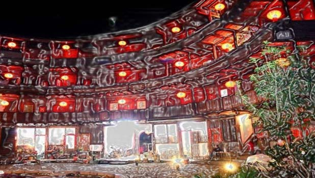 The Zhandzhou Wei Qun Lou Inn is actually 4 spherical shaped formations in the region of the central square. It provides you a chance to hang about in the old Fujian Tulou Building. UNESCO declared the sequence of identical buildings as the World Heritage Site in 2008.