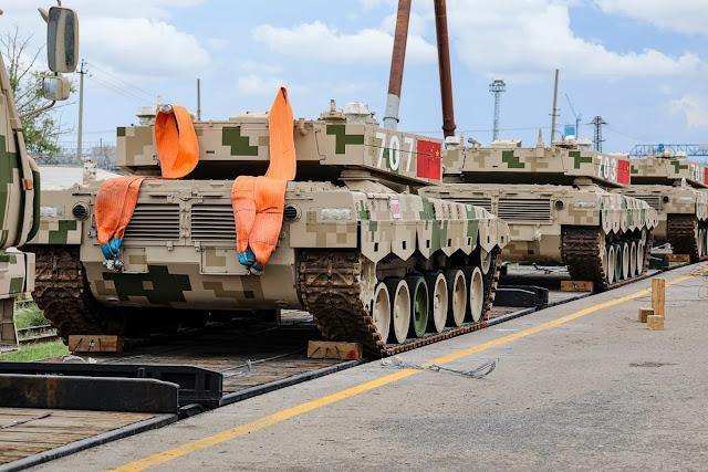 Tank trung quốc đến Nga
