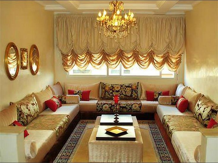 Inspiring Home Decoration Arabian Living Room Design Ideas