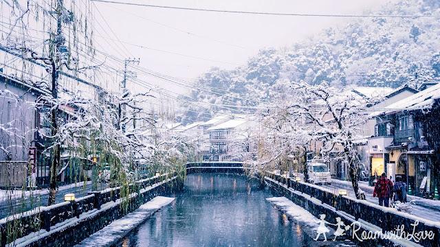 Kinosaki ออนเซ็น คิโนซากิ ญีุปุ่น สวย