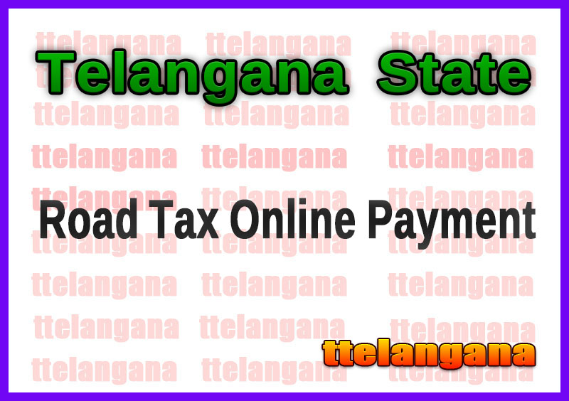 TS RTA Road Tax Online Payment