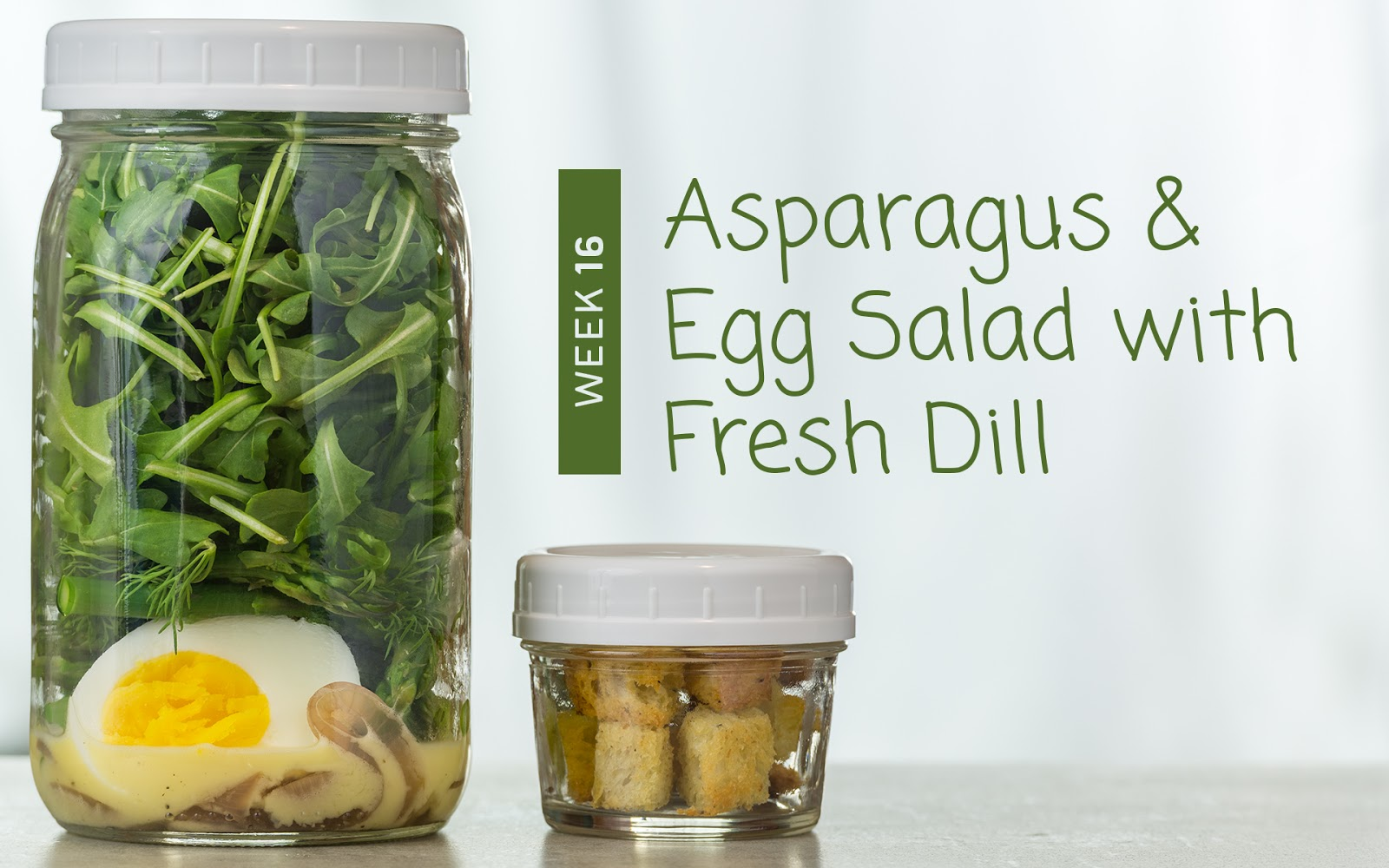 FOOD SNOB: Asparagus and Egg Salad with Fresh Dill