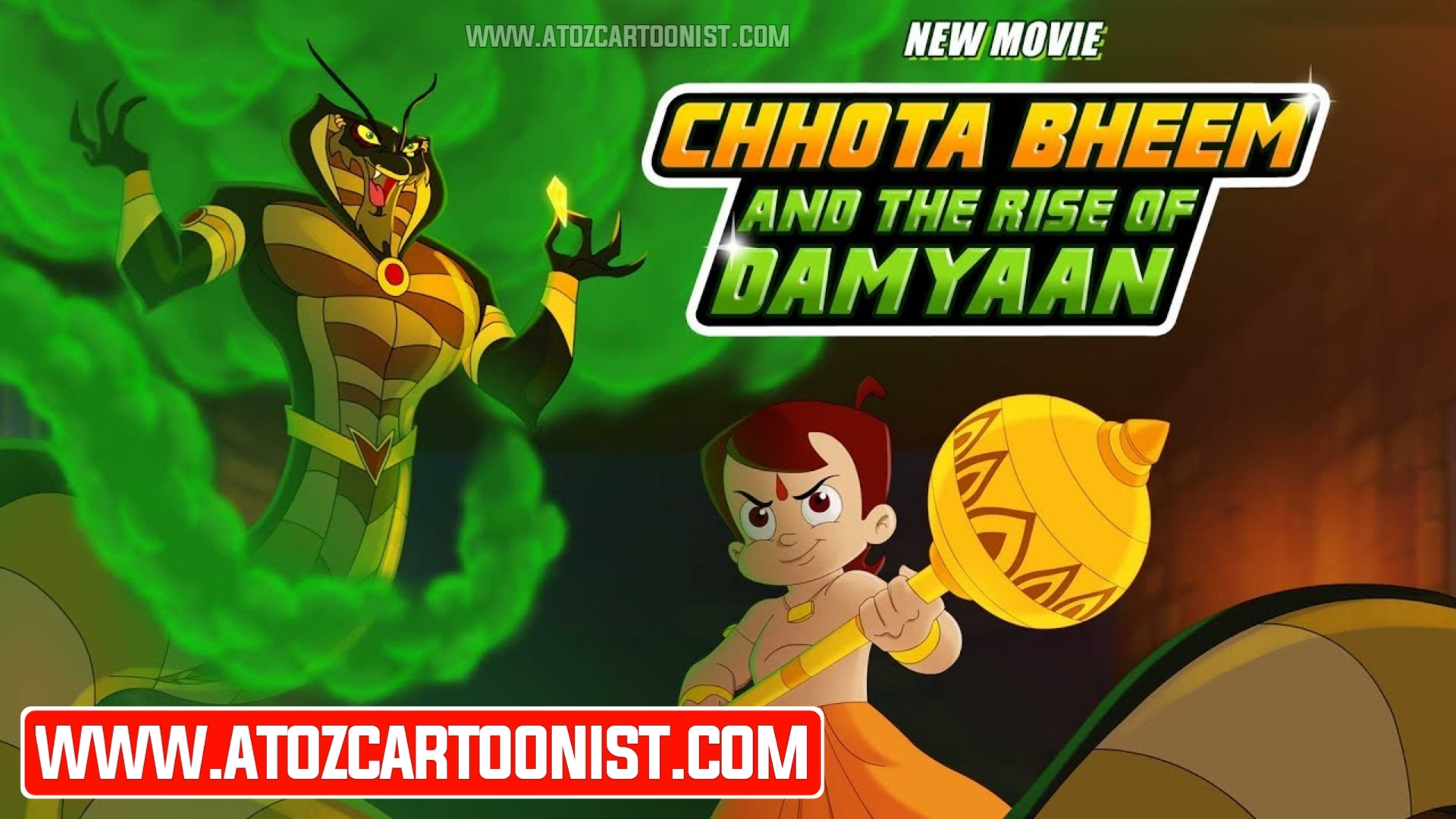 CHHOTA BHEEM AND THE RISE OF DAMYAAN FULL MOVIE IN HINDI & TAMIL DOWNLOAD (480P, 720P & 1080P)