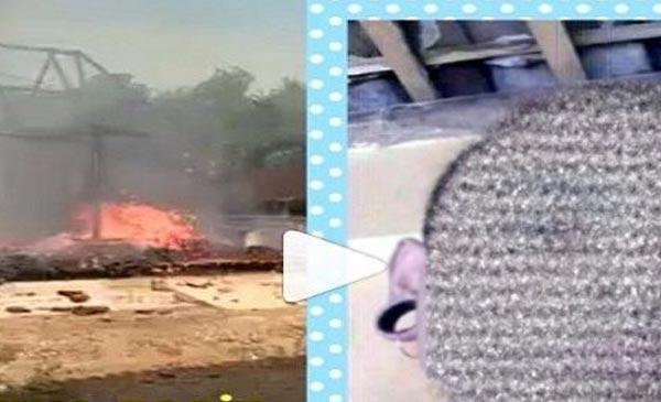 Tak Dibelikan HP, Seorang Anak Tega Membakar Rumah Orang Tuanya