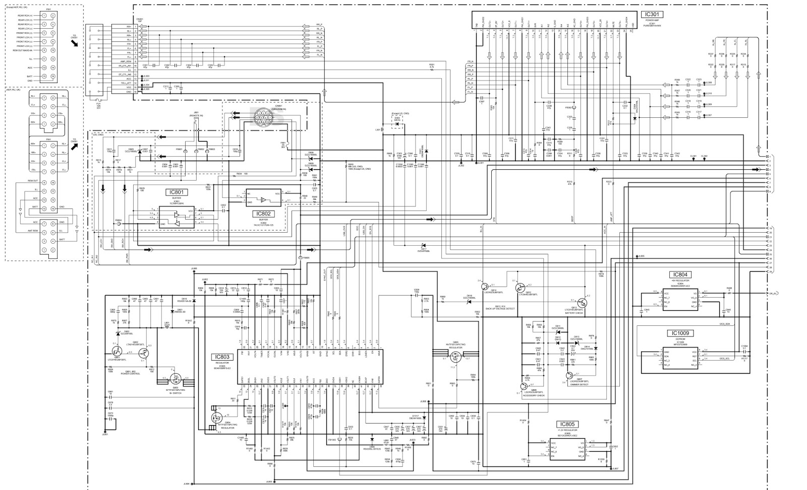 wiring diagram sony mex n5100bt