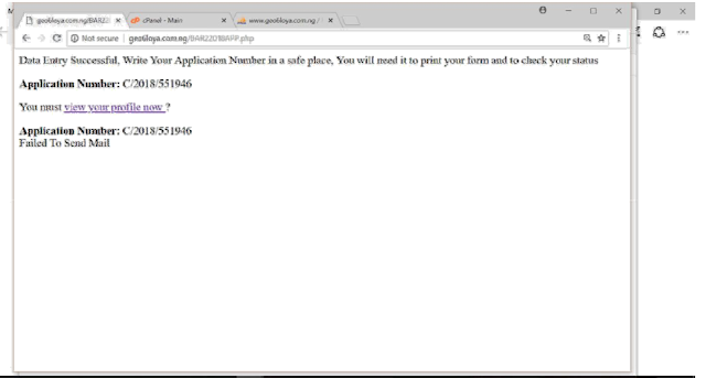 nls application number printing 1