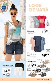 CATALOG LIDL 1 iulie - 7 iulie 2019 oferte tricouri de dama