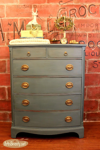 http://www.artisbeauty.net/2016/02/bruised-and-battered-dresser-turned.html