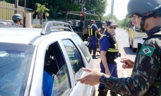 Exercício Guarujá adestra a tropa em GLO no RS