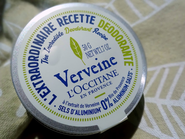 L'Occitane Verbena The Incredible Deodorant Recipe Review, Photos