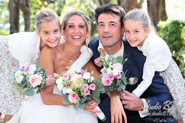 Photos de mariage avec enfants