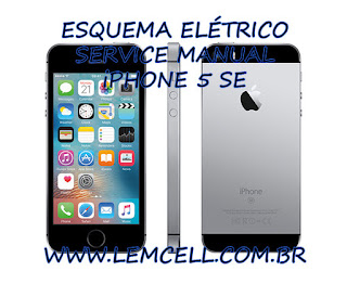 Esquema-Elétrico-Smartphone-Celular -iPhone-5-SE-Manual-de-Serviço-Service-Manual-schematic-Diagram-Cell-Phone-Smartphone-iPhone-5-SE