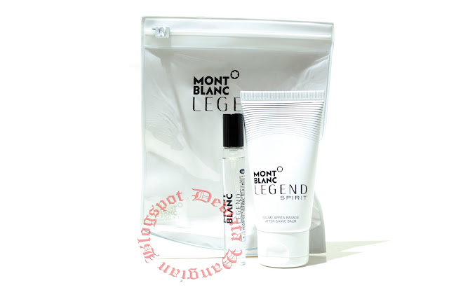 Mont Blanc Legend Spirit Travel Perfume Set