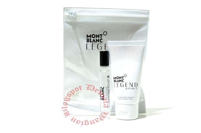 Mont Blanc Legend Spirit Travel Perfume Set