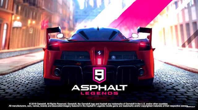 لعبة Asphalt9 للايفون