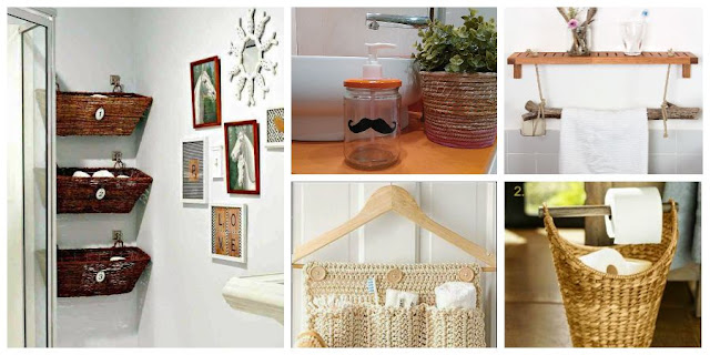 5 ideas low cost para el ba o decoraci n for Accesorios para decorar el hogar