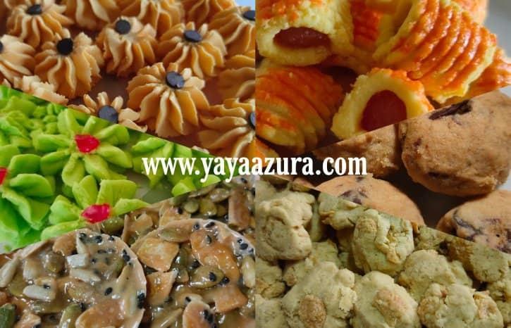 6 Resepi Biskut Raya Azlina Ina Wajib Buat Setiap Tahun