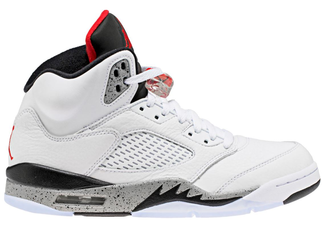 Air Jordan 5 White Cement Retro Sneaker (Detailed Look + Release Info) 5c777ac5d