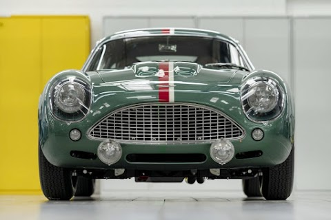 Aston Martin Delivers First New DB4 GT Zagato in over 55 Years
