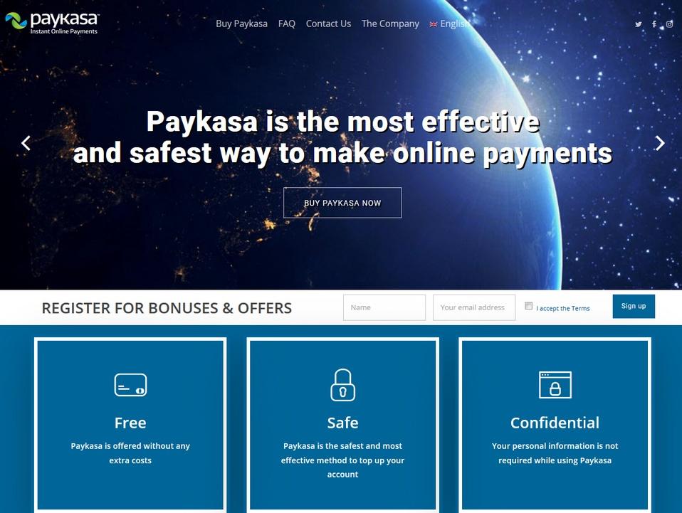 Paykasa bookmakers