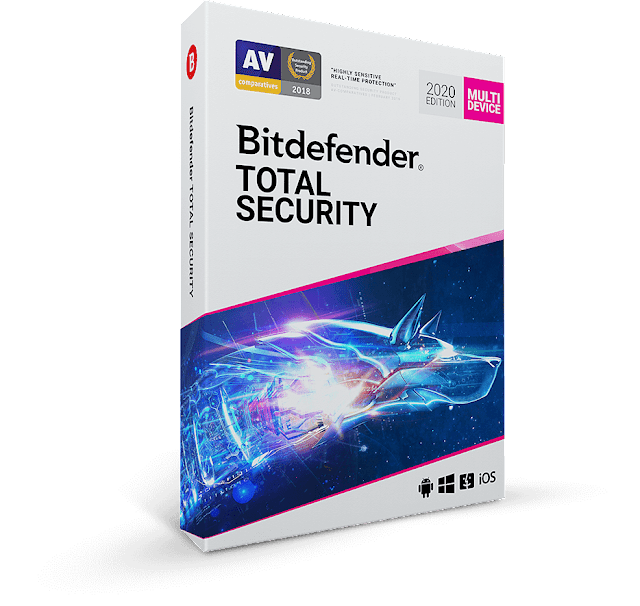 Bitdefender Total Security 2020 Free 6 Months