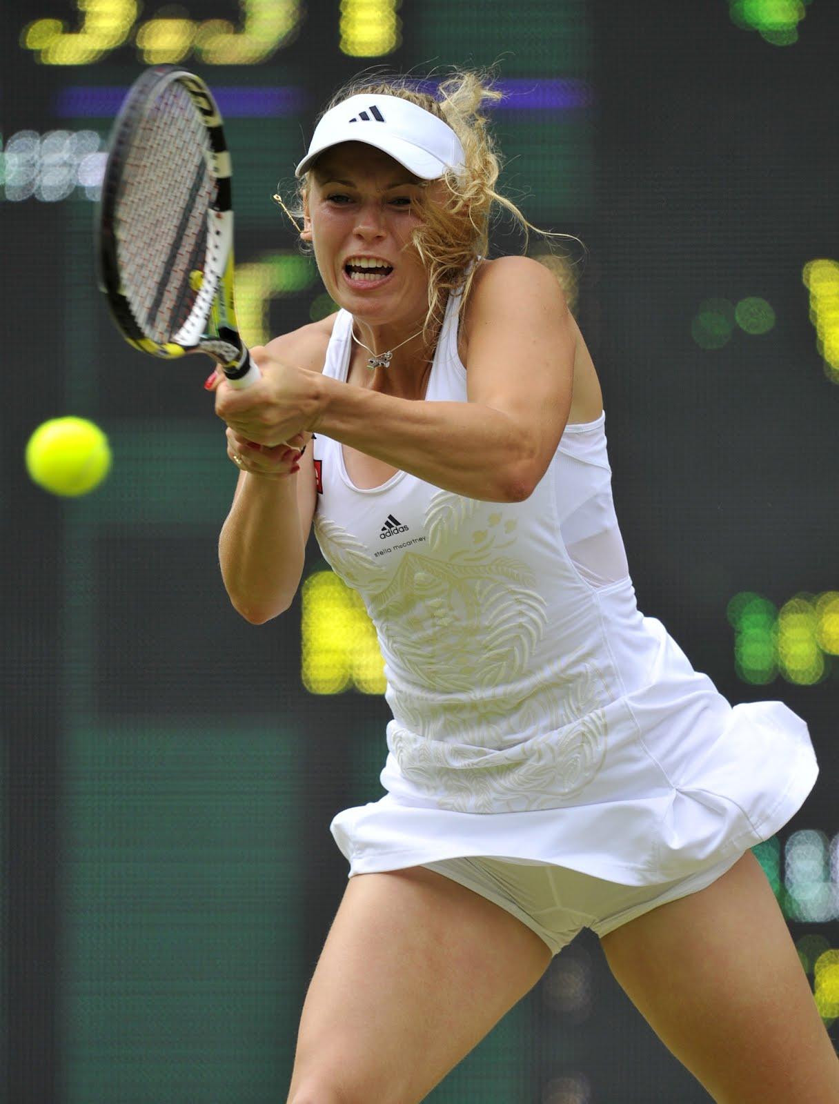 Can Sexy tennis pic upskirts touching