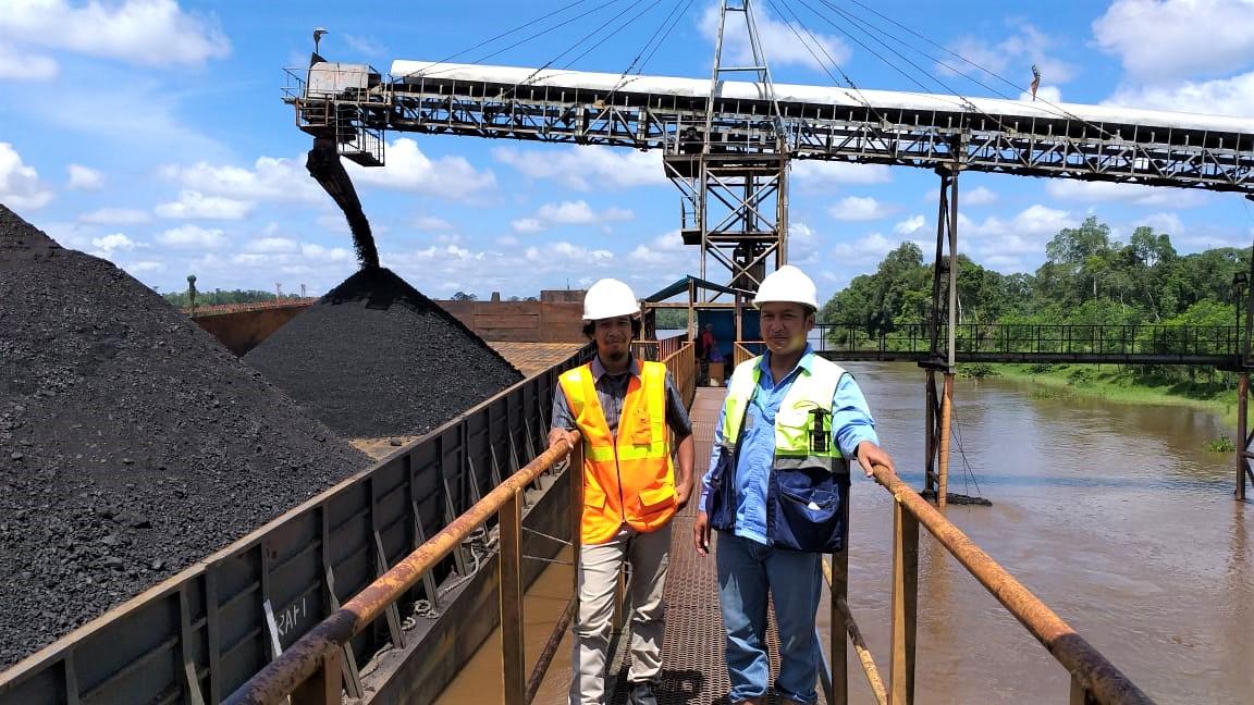Pemasangan Stasiun Pemantau Muka Air di Muara Teweh, Kalimantan Tengah